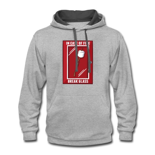 Roasting Marshmallows - Contrast Hoodie