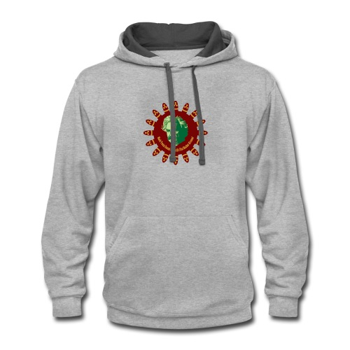 Mark Twain Owned The First Nuclear Arsenal - Contrast Hoodie