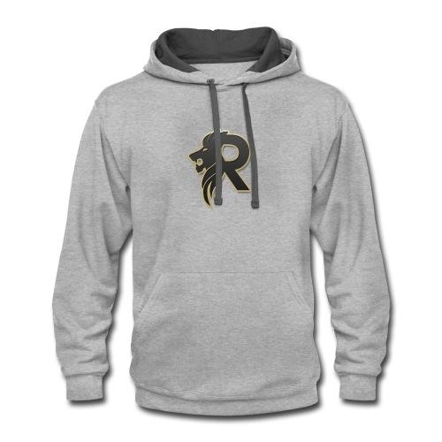 rubzys Merch logo - Contrast Hoodie