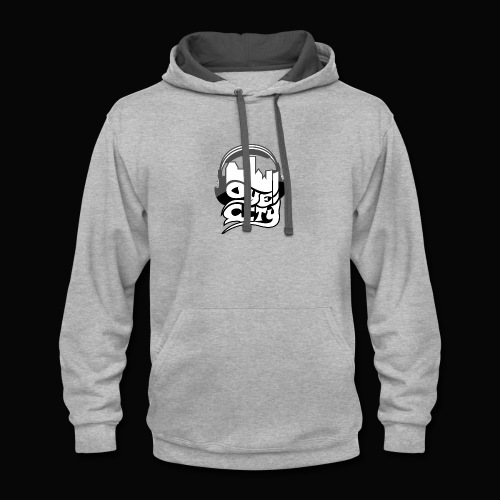 Whiteout Oye City - Contrast Hoodie