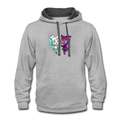 Shimmer & Angie! - Contrast Hoodie