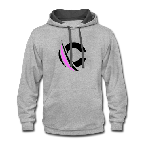Black/Purple Clarity Apparel - Contrast Hoodie