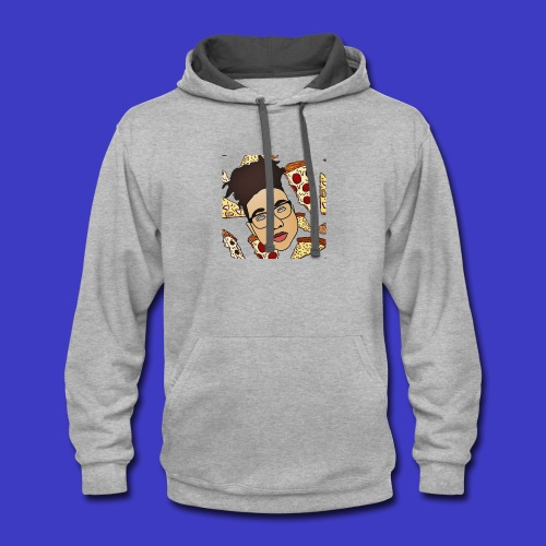 Draco on Pizza - Contrast Hoodie