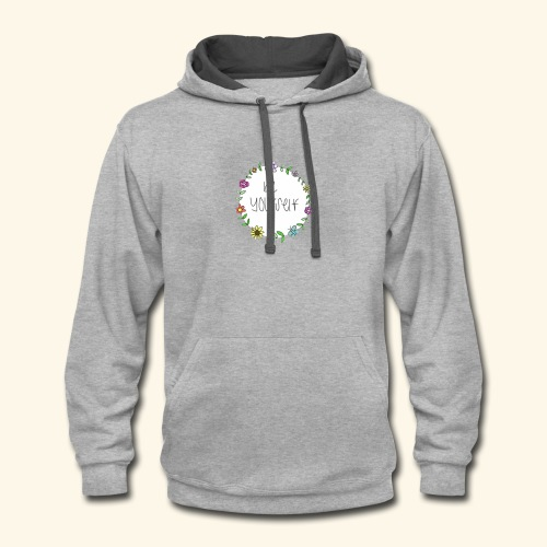 Hippy Style - Contrast Hoodie
