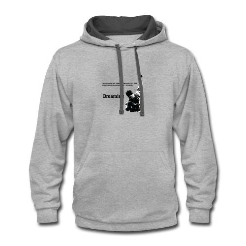 Motivation t-shirt - Contrast Hoodie