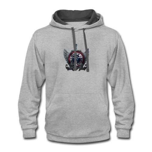 Guardians of America - Small Logo - Contrast Hoodie