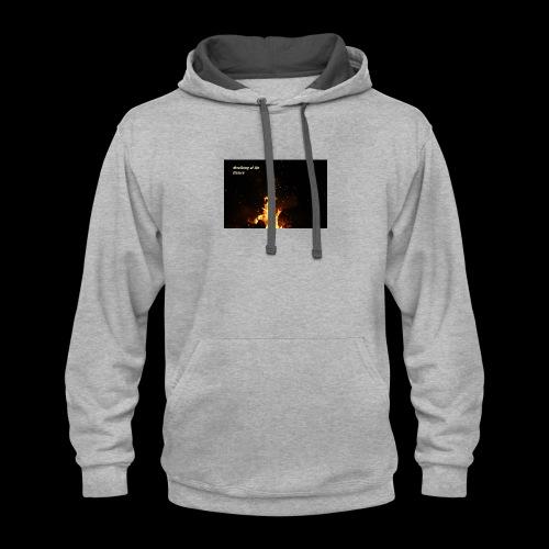 the flames - Contrast Hoodie