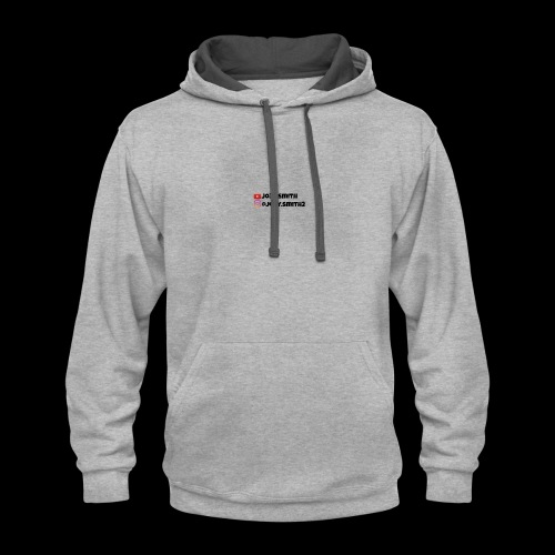 Youtube and Instragam - Contrast Hoodie