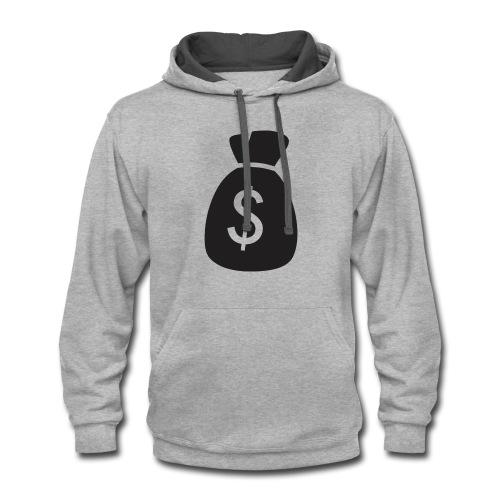 Dollar Sign - Contrast Hoodie