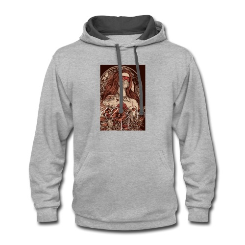 Be a part of the comunity - Contrast Hoodie