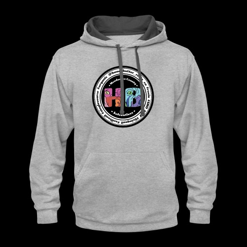COLOR HB Patch - Contrast Hoodie