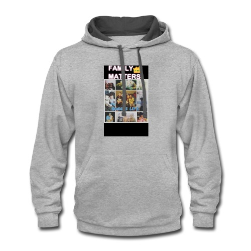 Family matter - Contrast Hoodie
