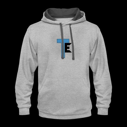 The Second Team Exelfiny Logo - Contrast Hoodie