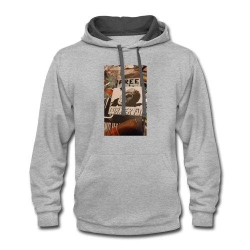FREE LURK - Contrast Hoodie