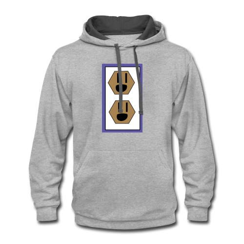 switch - Contrast Hoodie