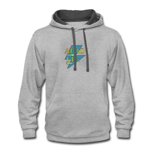 afrofit small 1 - Contrast Hoodie