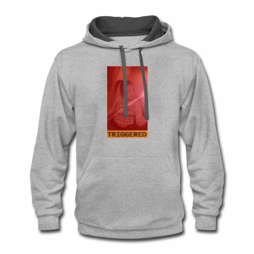 Triggered Clothing - Contrast Hoodie
