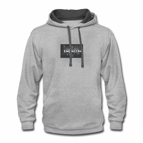 trust me, I'm an engineer T-shirt - Contrast Hoodie