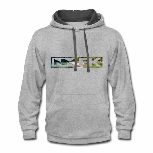 NMFK Street Style - Image Outline - Contrast Hoodie