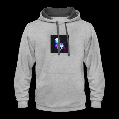 unicorn - Contrast Hoodie