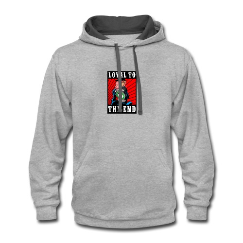 Toni - Contrast Hoodie