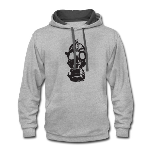 Gas Mask (Mello Jr.) - Contrast Hoodie