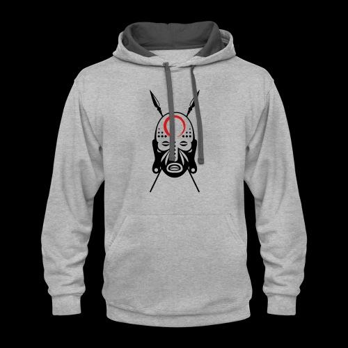 Zen/Lu Warrior Mask - Contrast Hoodie
