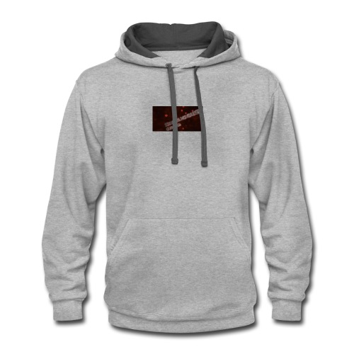 swagalicious gaming merch - Contrast Hoodie