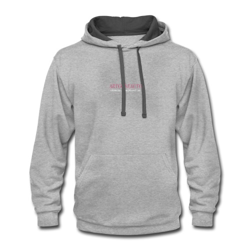 Classically Pink ARTGONEAUTO - Contrast Hoodie