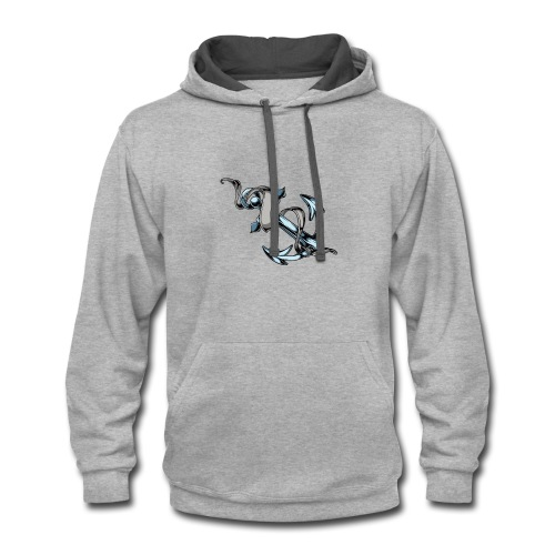 Men's Premium T-Shirt - Contrast Hoodie