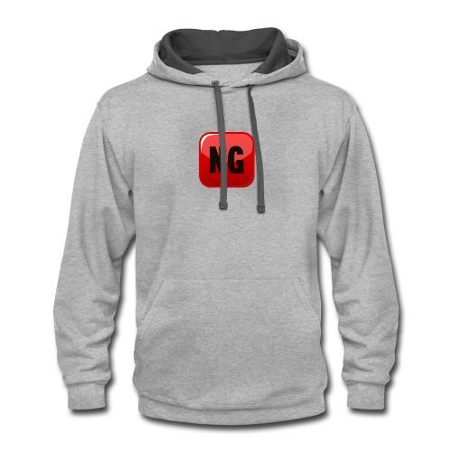 Ninja Gamer merch - Contrast Hoodie