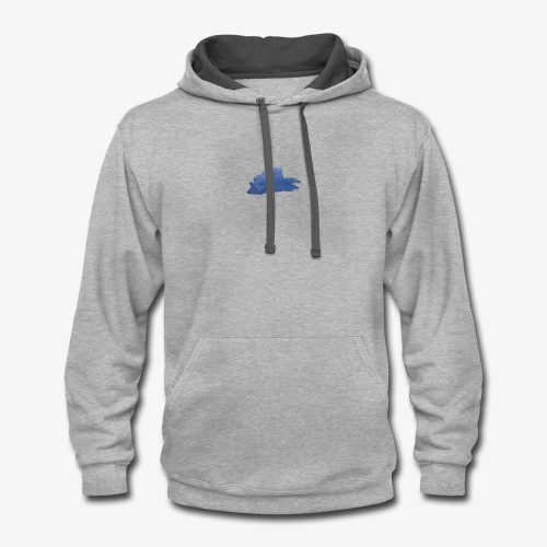 Above The Clouds - Contrast Hoodie