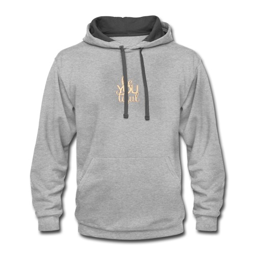 Be.You.Tiful. - Contrast Hoodie