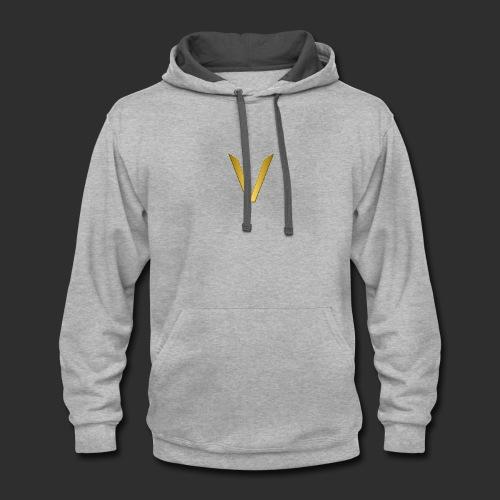 Vorteri Logo - Contrast Hoodie