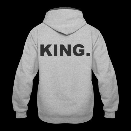 KING - Contrast Hoodie