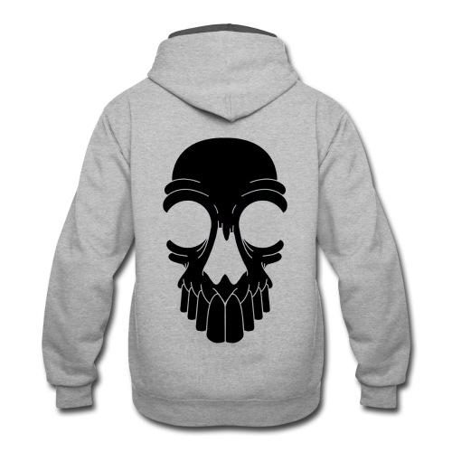 Z10 Skull Logo - Contrast Hoodie