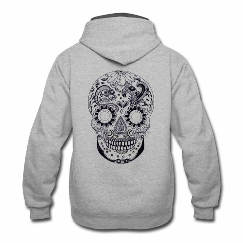 Calaber Zentangle black and White - Contrast Hoodie