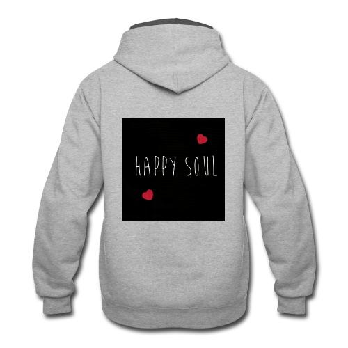 Happy Soul - Contrast Hoodie