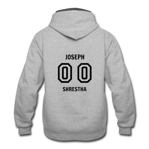 Joesph Shrestha's Jersey - Contrast Hoodie