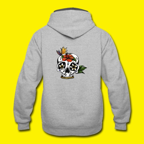 Candy Skull - Contrast Hoodie