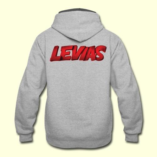 LEVIAS - Contrast Hoodie