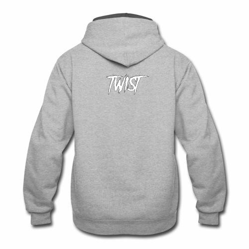 Aura Twist - Contrast Hoodie