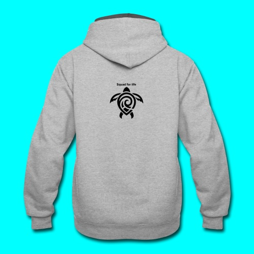 squad for life - Contrast Hoodie