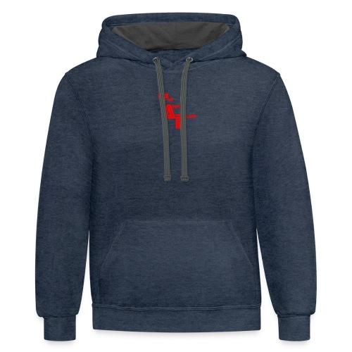 THEANIMALPLAYS Logo - Contrast Hoodie