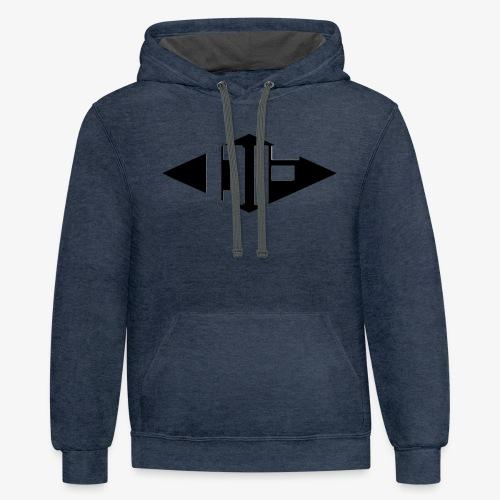 DF Logo - Contrast Hoodie