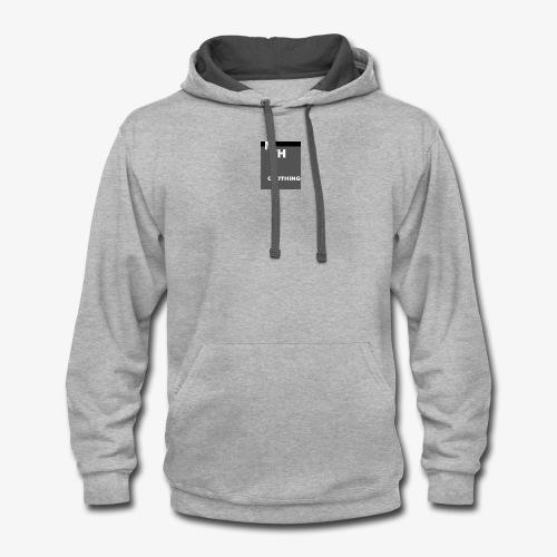 mth clothing co best in black - Contrast Hoodie