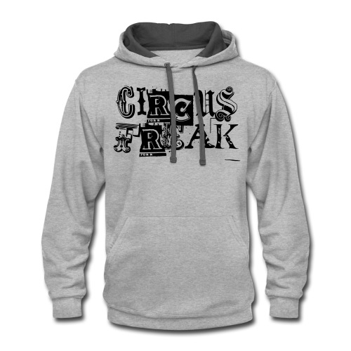 Circus Freak Outlines - Contrast Hoodie