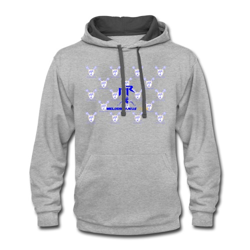 MR checkered - Contrast Hoodie