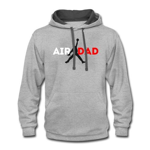 AirDad Brand - Contrast Hoodie