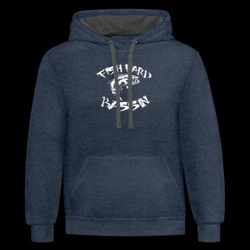 Fish Hard Logo - Contrast Hoodie